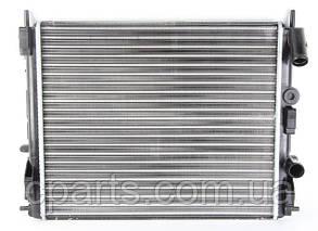 Радиатор основной RenaultLogan c кондиционером (Nissens 637931)(высокое качество)