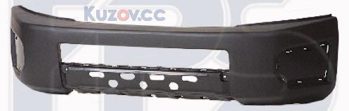Передний бампер Toyota FJ Cruiser (06-10) черный по покрас (FPS)