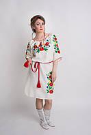 Оригинальное женское платье с вышивкой (1507/7)