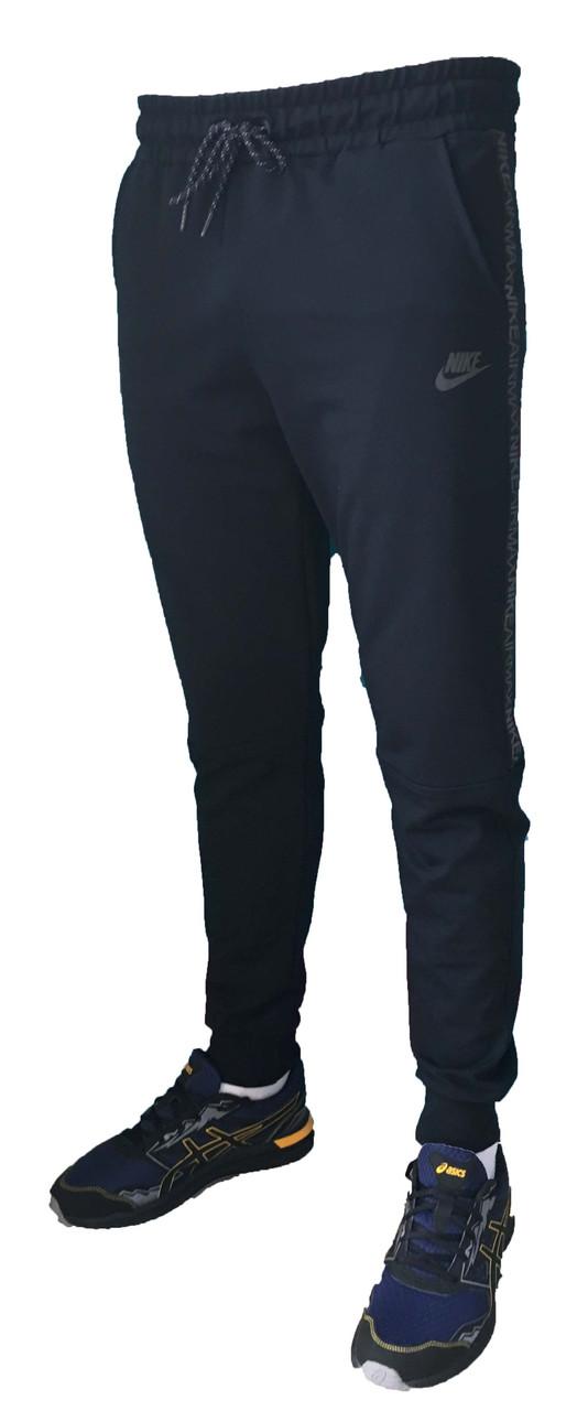 Молодежные трикотажные спортивные штаны на манжете 50 размер (Реплика)
