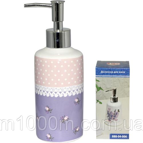 Диспенсер для мыла 'Ситец' 6*18 см 888-04-008