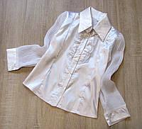 Школьная форма - Детская блузка р.122-140, фото 1
