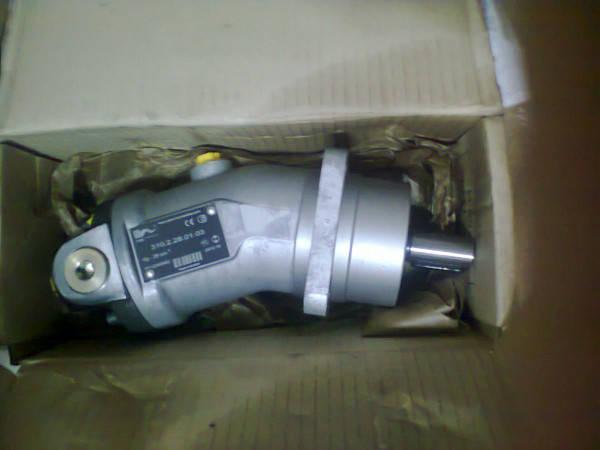 Аксиально-поршневой нерегулируемый гидромотор 310.12.00.00, аналог МГ3.12/32А, (вал - шлицевой), фото 2