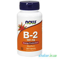 Витамины NOW Vitamin B-2 100 mg (100 капс) витамин б 2 нау