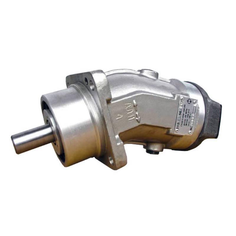 Аксиально-поршневой нерегулируемый гидромотор 310.12.01.05, аналог МГ3.12/32.1.В, (вал - шпонка), фото 2