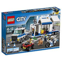 LEGO 60139 City Мобільний командний центр Лего Сити Мобильный командный центр