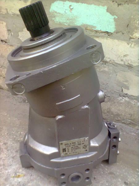 Аксиально-поршневой нерегулируемый гидромотор 310.2.28.01.00, аналог гидромотор МГ2.28/32.1.А, (вал - шпонка), фото 2