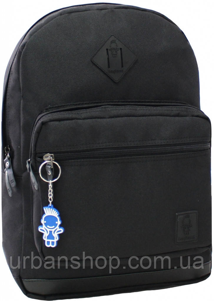 Украина Рюкзак для ноутбука Bagland Zanetti 16 л. Чёрный (0011766)
