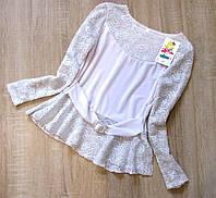 Распродажа! - Детская блузка р.122-146