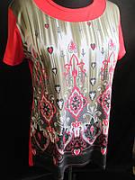 Красивые женские футболки оптом со склада., фото 1