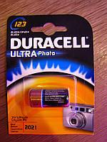 Батарейка DURACELL Ultra 3V 123, фото 1