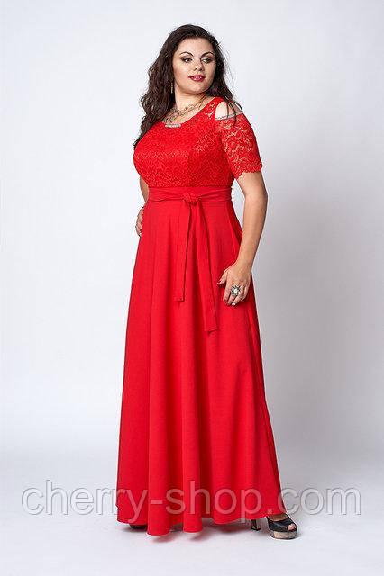 Стильне вечірнє плаття в розмірі 52,54,56,58