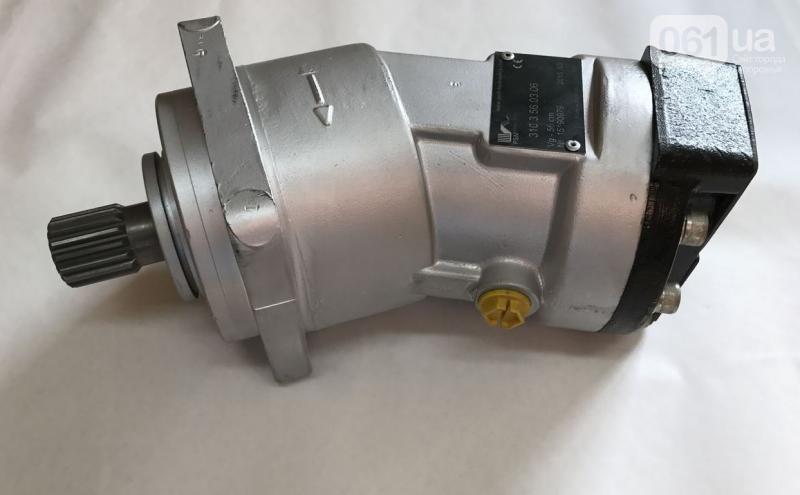 Аксиально-поршневой нерегулируемый гидромотор 310.3.56.00.06, аналог МН 56/32, (вал - шлицевой)