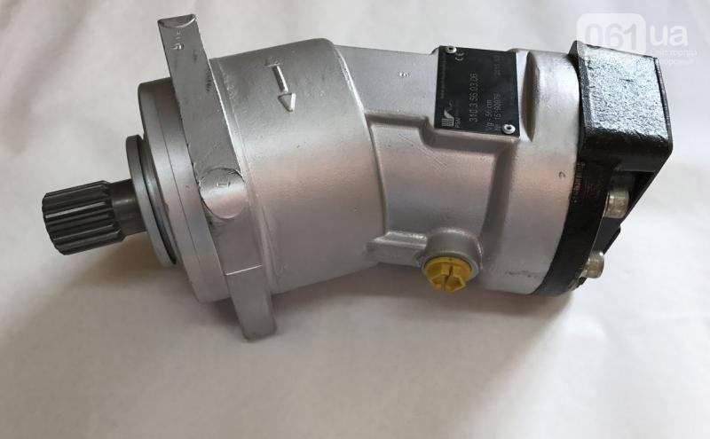 Аксиально-поршневой нерегулируемый гидромотор 310.3.56.00.06, аналог МН 56/32, (вал - шлицевой), фото 2
