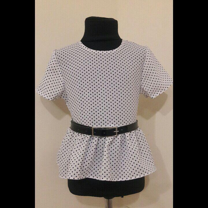Школьная блузка 122-140