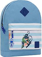 Украина Рюкзак Bagland Молодежный W/R 17 л. 190 блакитний 139 (00533662), фото 1