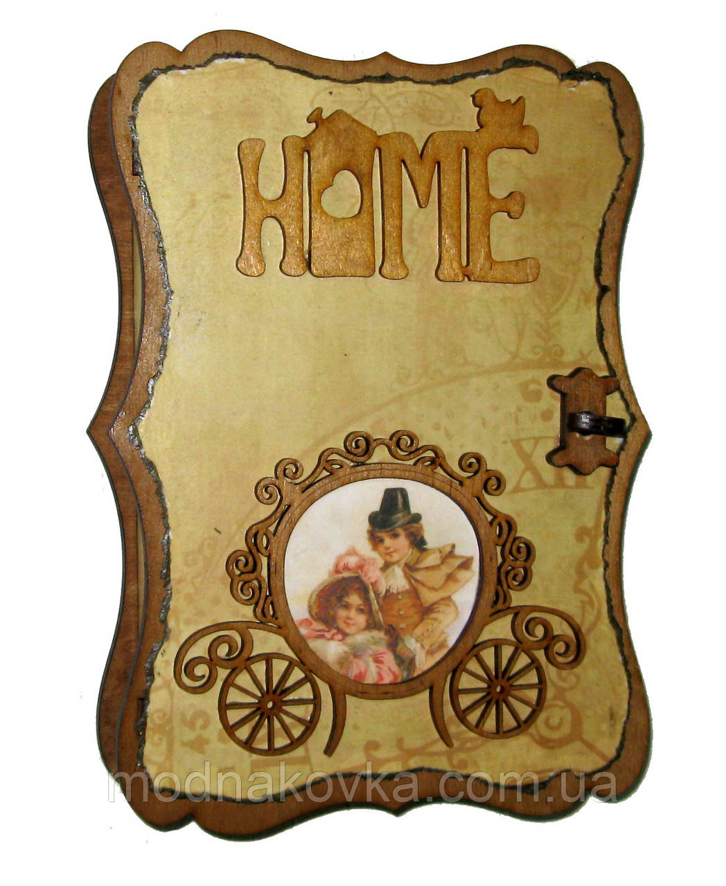 Ключница Винтаж Home с фоторамкой