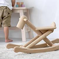 """Деревянная игрушка """"Складная лошадка-качалка"""", PlanToys"""