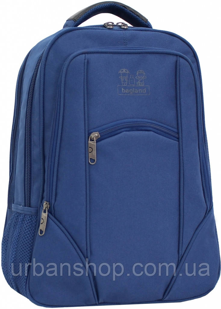 Украина Рюкзак для ноутбука Bagland Рюкзак под ноутбук 537 21 л. Синий