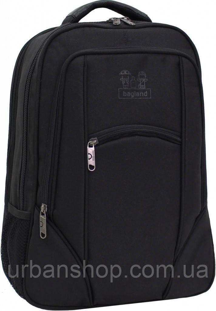 Украина Рюкзак для ноутбука Bagland Рюкзак под ноутбук 537 21 л. Чёрны