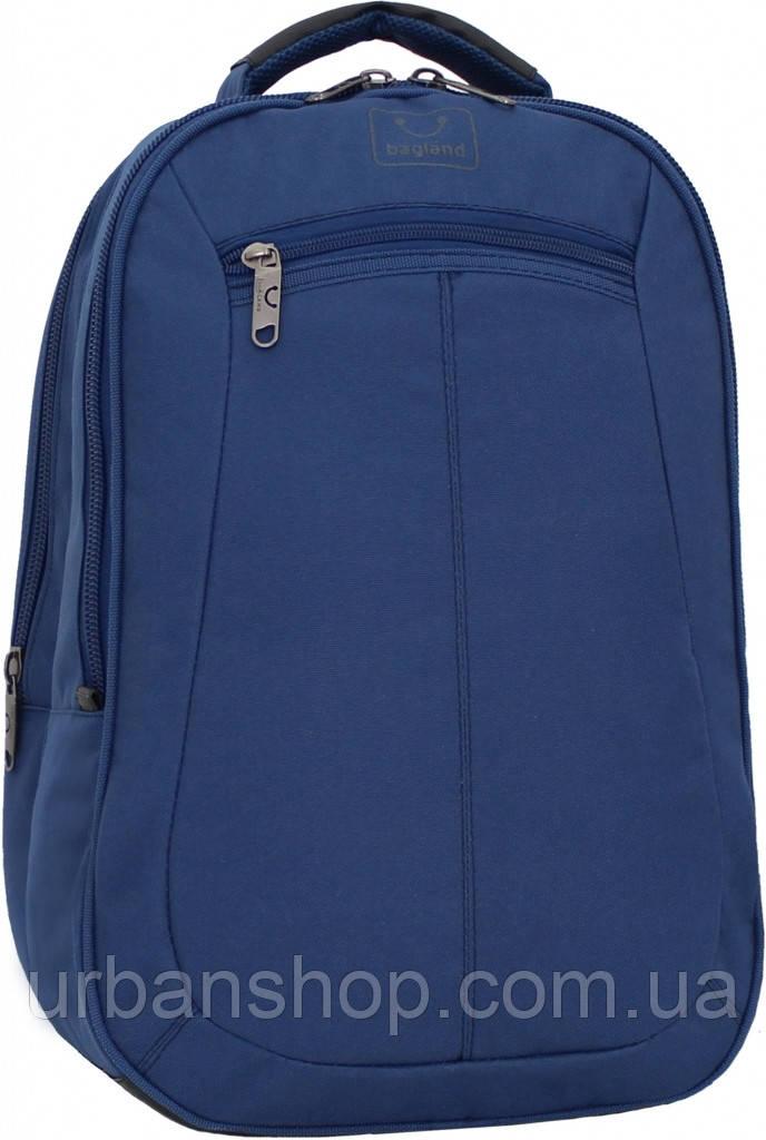 Украина Рюкзак для ноутбука Bagland Рюкзак под ноутбук 536 22 л. Синий