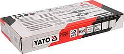 Набір мітчиків та плашок Yato YT-2975, фото 2