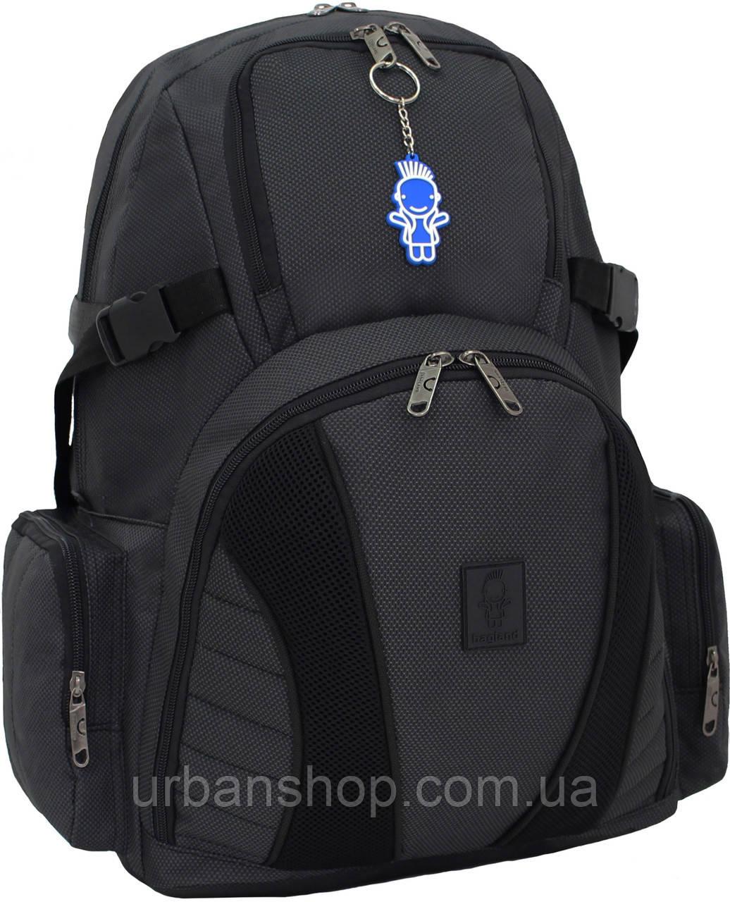 Украина Рюкзак Bagland Звезда 35 л. Чёрный (00188169)