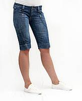 Шорты женские джинсовые Crown Jeans модель 387 (MD 534 GRTS)