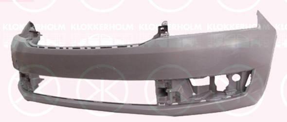 Бампер передний Skoda Rapid 13- EUR, (Китай) (FPS) 5JA807221, фото 2