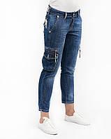 Капри женские Crown Jeans модель 390 (MD 534 GRTS)