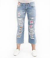 Капри женские Crown Jeans модель 834-3 (IRB)