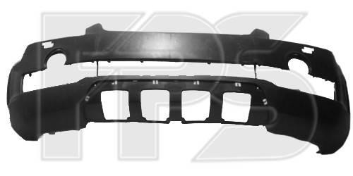 Передний бампер Chevrolet Captiva (06-11) черный, под покрас (FPS), фото 2