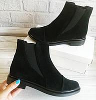 Замшевые ботинки челси. Обувь VISTANI, фото 1