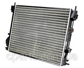 Радиатор основной RenaultLogan c кондиционером (Thermotec D7R018TT)(среднее качество)