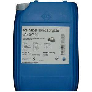 Aral SuperTronic Longlife III 5W-30 20л