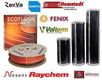 Электрический теплый пол под ламинат, линолеум, плитку Инфракарсные пленки, греющие кабели, маты.