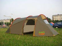 Палатка трёхместная Green Camp 1017