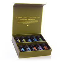 """Family Essentials Kit/ Семейный набор """"Домашняя аптечка"""", смеси и чистые эфирные масла, 10 шт по 5 мл"""