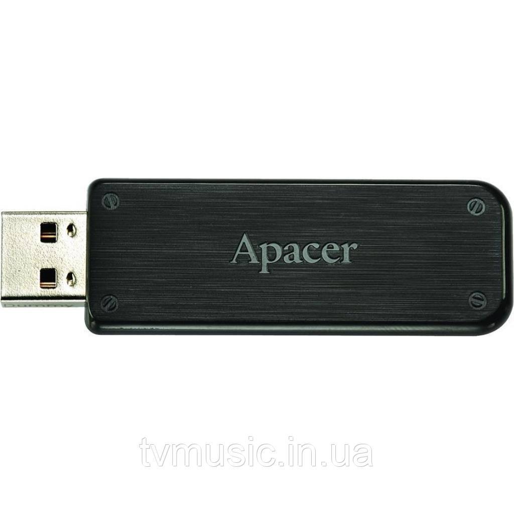 USB флешка Apacer AH325 32GB Black (AP32GAH325B-1)