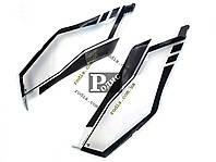 "Защита фар ""Spirit"" Mitsubishi Outlander XL 2007-2010 - Защита фар Митсубиси Аутлендер ХЛ"