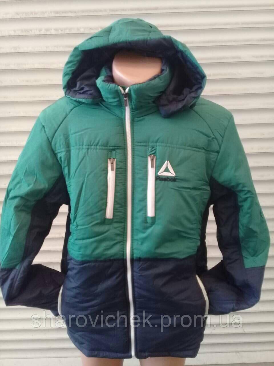 Зимняя мужская куртка Reebok (копия)  продажа, цена в Одессе. куртки  мужские от ... ce9bc5f0c41
