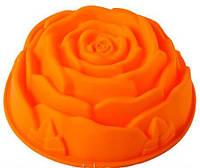 Роза большая Форма силиконовая HH-062