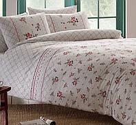 Набор постельного  белья TAC ранфорс семейный  SASHA V02 LILA