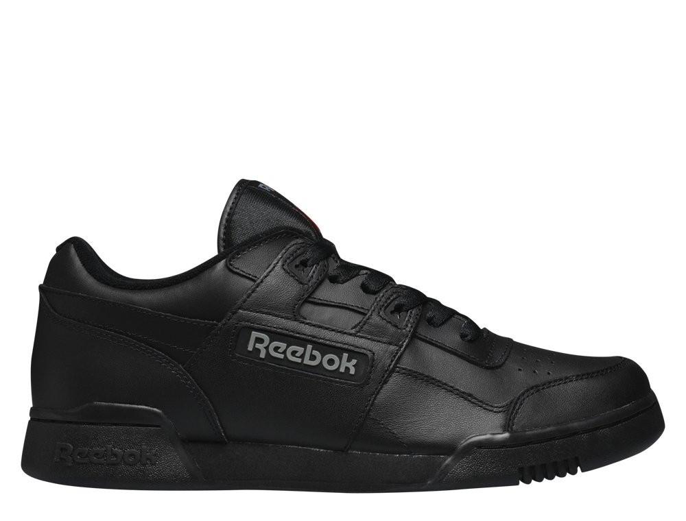"""Оригінальні Кросівки Reebok Classic Workout Plus """"Black/Charcoal"""" 2760"""