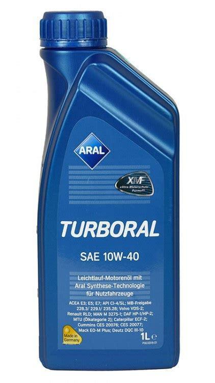 Aral Turboral 10W-40 1л