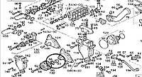 98427607 подшипник муфты вентилятора 42x80x37 Ивеко Евротех Траккер Стралис Iveco Eurotech Stralis Eurotrakker, фото 1