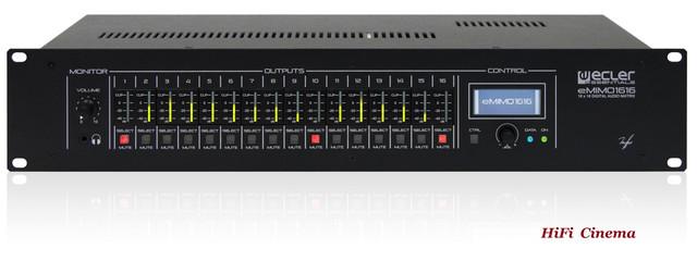 Ecler eMIMO1616 Audio Matrix front