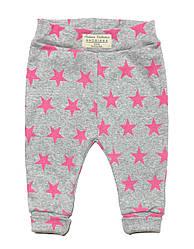 Штанишки от 0 до 4 лет Andriana Kids розовые звезды