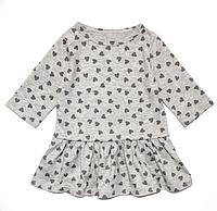 Дизайнерское платье от 1 до 4 лет Andriana Kids в сердечки