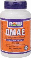 ДМАЭ, Now Foods, DMAE, 250 mg, 100 Caps